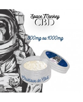 Cristaux de CBD - Space Monkey